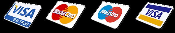Доступна оплата банковскими картами
