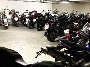 Зимнее хранение мотоцикла