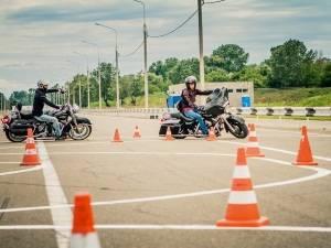 Уроки вождения на мотоцикле