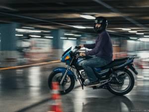 Комфортное обучение езде на мотоцикле в любую погоду!